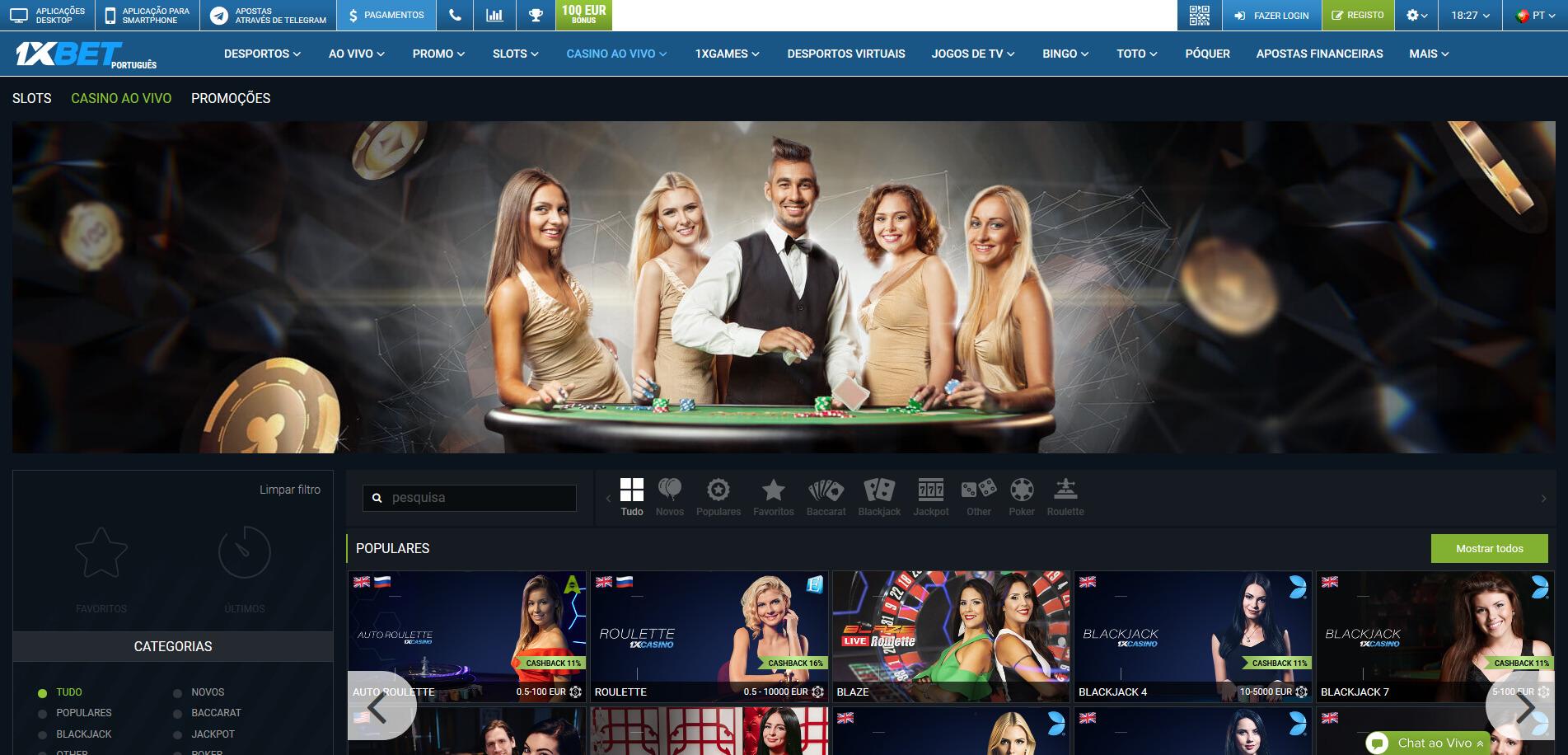 1XBet casino online para jugar en Colombia