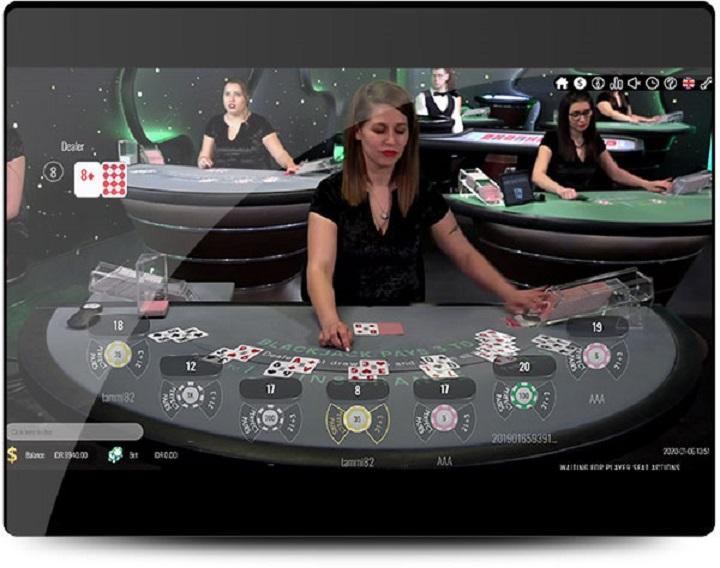 Casino con Dealer o Crupier en Vivo