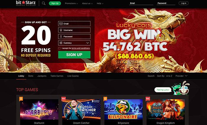 Bitstarz casino online en Colombia