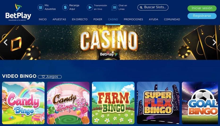 Casino Online Betplay en Colombia