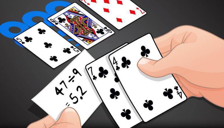 Combinaciones con las que pueden ganar en Three Card Poker