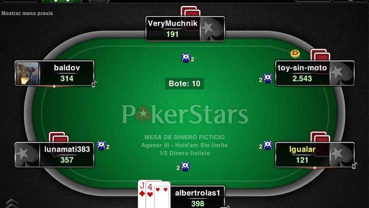 Jugar póker con jugadores de todo el mundo