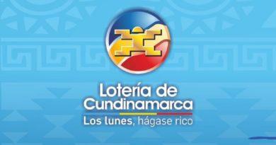 Lotería Cundinamarca Colmbia 2021