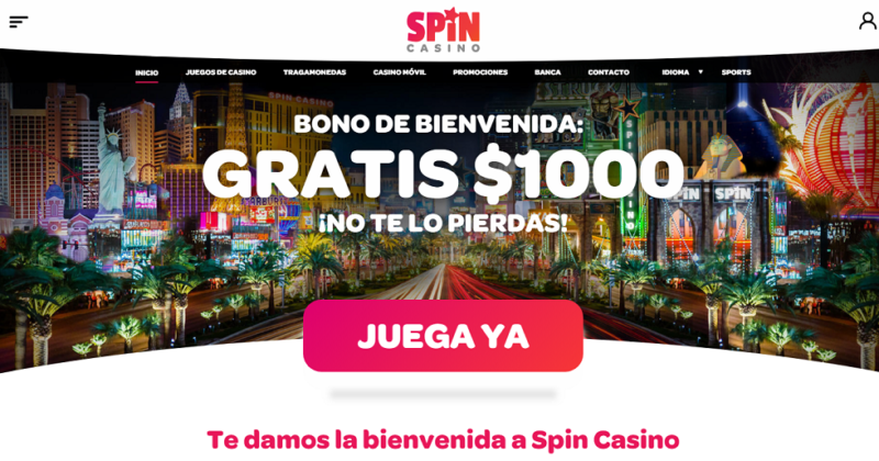 spin casino colombia