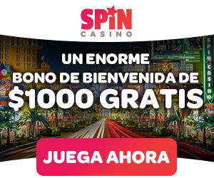Spin Casino Colombia 100 gratis a nuevos jugadores